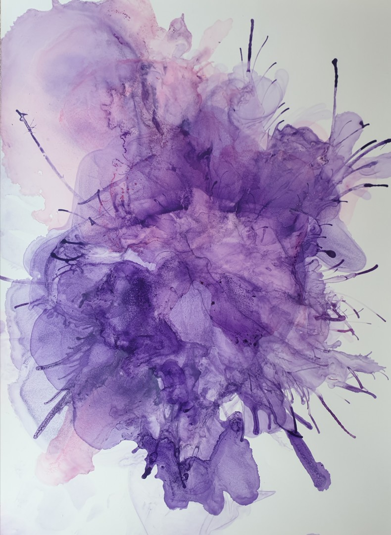 Stéphanie MENARD - Abstract Flowers 1607