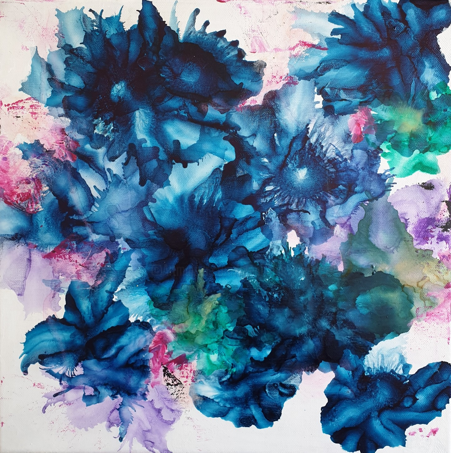 Stéphanie MENARD - Abstract Flowers 2207.2